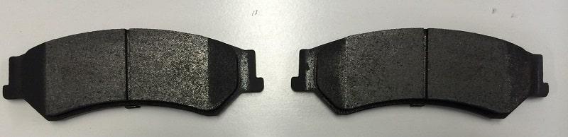 Полуметаллические тормозные колодки