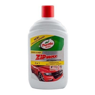 Восковый автошампунь Turtlе Wаx Zip Wax