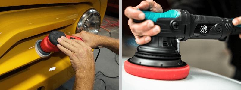 Диаметр диска полировальной машинки для авто?