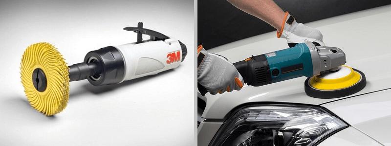 Форма полировальной машинки для авто