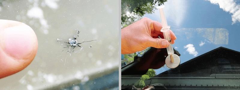 Ремонт сколов и трещин лобового стекла