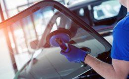 Замена лобового стекла автомобиля своими руками