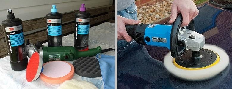 Какие нужны материалы и инструменты для полировки кузова?