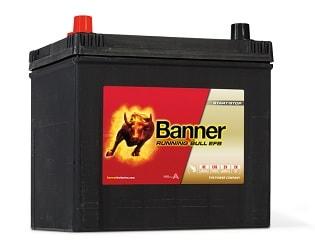 BANNER Running Bull